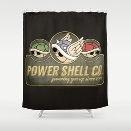 Power Shell Co. Shower Curtain