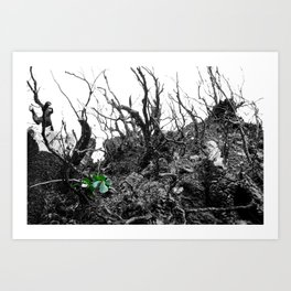 What Grows Up Art Print