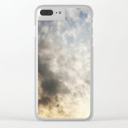 Flying Solo Clear iPhone Case