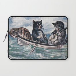 The kitties in a rowboat Laptop Sleeve