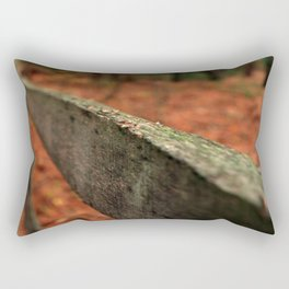 Weathered Wood Rectangular Pillow