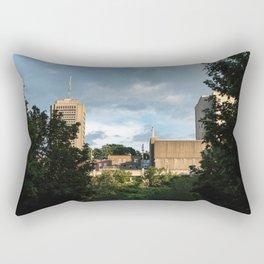 Charest park - Old qubec #2 Rectangular Pillow