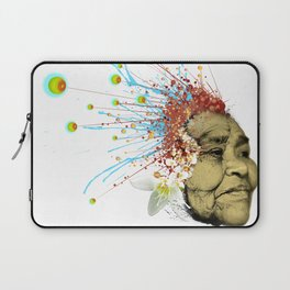 """Gabriela"" of the Kaweskar People - Color Laptop Sleeve"