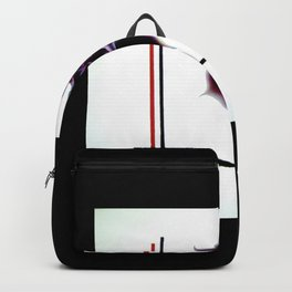 Abstract in perfection - Fertile Imagination Rose 5 Backpack