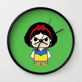 Blancanieves pin y pon Wall Clock