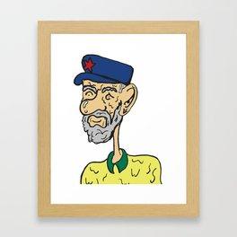 Jezza C Framed Art Print