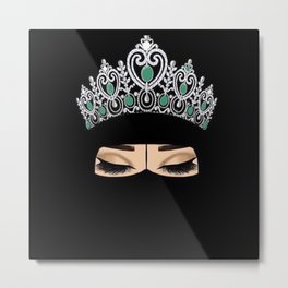 Queen Emerald Metal Print