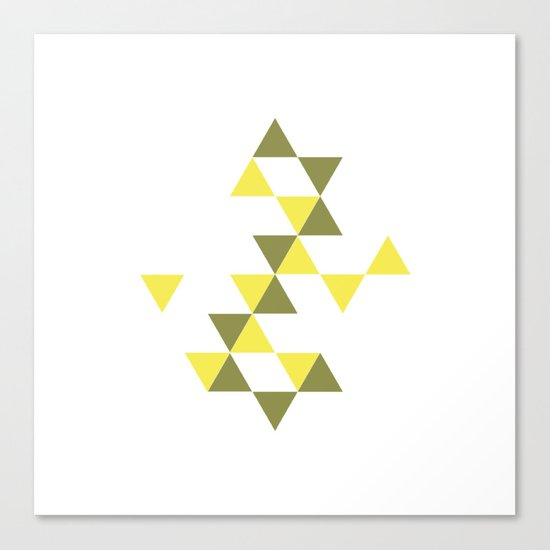 #322 Stars aligning – Geometry Daily Canvas Print