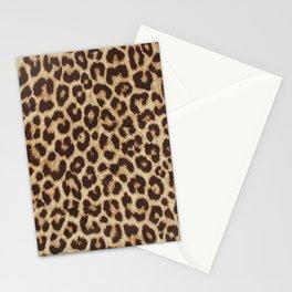 Leopard Pattern - Cheetah Pattern Stationery Cards