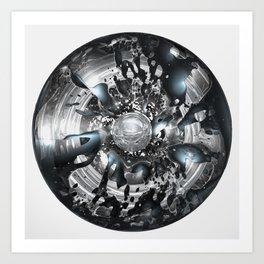 Dysilica Art Print