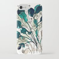 emerald iPhone & iPod Cases featuring Emerald by Tonya Doughty