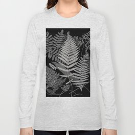 The fern paradise- a plea for the culture of ferns - Francis George Heath - 1908 Ink Black and White Long Sleeve T-shirt