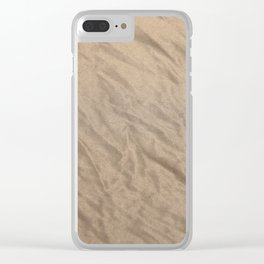 crushed tulle Clear iPhone Case