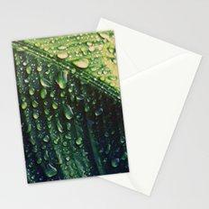 Wet leaf Stationery Cards