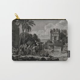 Egyptian Fortune-tellers Outside a Palace Carry-All Pouch