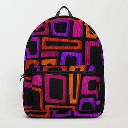 Palm Springs Nights - Modern Tiki Backpack