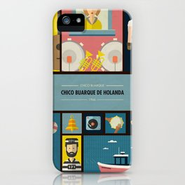 """Chico Buarque de Holanda"" -  Chico Buarque iPhone Case"