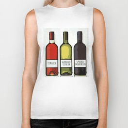 Wine Biker Tank