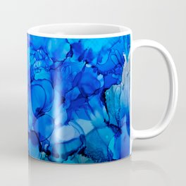 Blue Petunias Coffee Mug