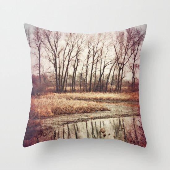 Solitude River Throw Pillow