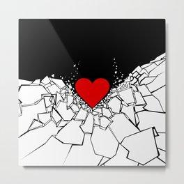 Heartbreaker Metal Print