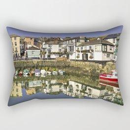 Falmouth Harbour Pubs  Rectangular Pillow