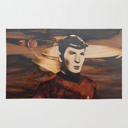 Leonard Nimoy alias Mr. Spock Rug