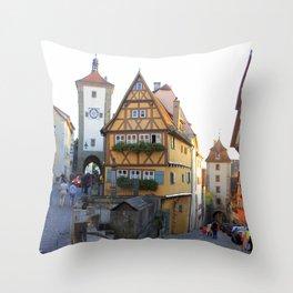 Rothenburg20150902 Throw Pillow