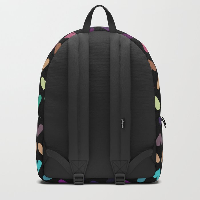 Colorful hearts IV Backpack
