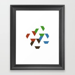 #547 Spread – Geometry Daily Framed Art Print