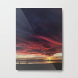Winter at Salton Sea Metal Print