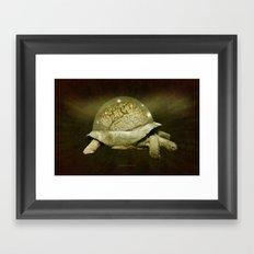 Slow Thinker 011 Framed Art Print