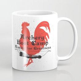 Archery Boot Camp >>-----> Aiming for Greatness Coffee Mug