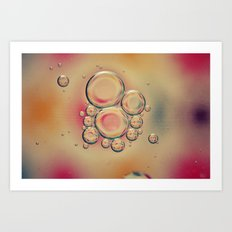 Kaleidoscope: Oil & Water Art Print