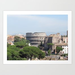Il Colosseo Art Print