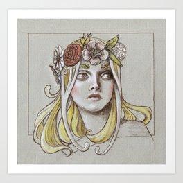 Yavanna the Queen of Earth Art Print