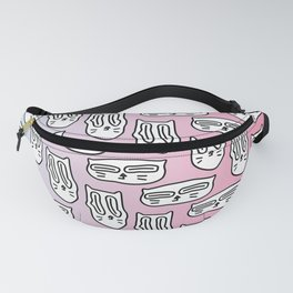Trippy cats Fanny Pack