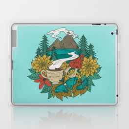 Pacific Northwest Coffee and Nature Laptop & iPad Skin