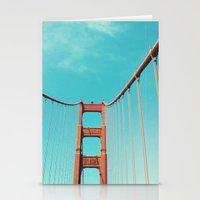 bridge Stationery Cards featuring bridge by Laura Veinticuatro