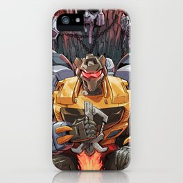 A King Undisputed iPhone Case