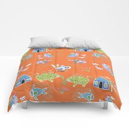 Life in Africa Comforters