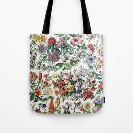 Adolphe Millot - Fleurs C - French vintage poster Tote Bag