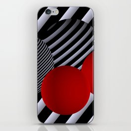 shining geometry iPhone Skin