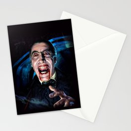 Christopher Lee Dracula Horror Movie Monsters Stationery Cards