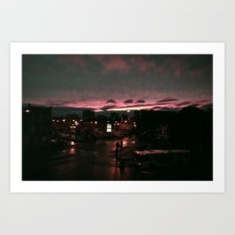 post rain set Art Print