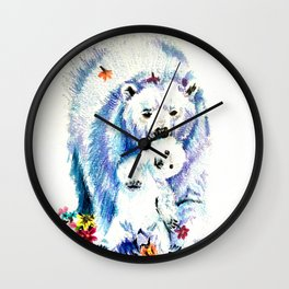 Mama Bear Lovin Wall Clock