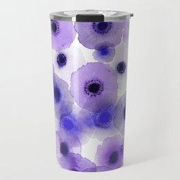 Purple anemones Travel Mug