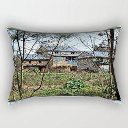 NEPALI FOOTHILLS FARMSTEAD Rectangular Pillow