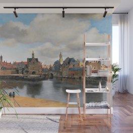 Johannes Vermeer - View of Delft Wall Mural