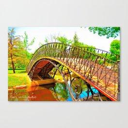 Wonka Bridge Canvas Print